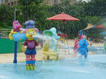 Funny Kids Water Playground Multi Color Cartoon Man Splash Water Pool Toys