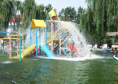 6.5 M Kids Commercial Playground Equipment For Aqua Park Swimming Pool