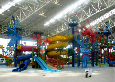 Large Water Playground Equipment Compound Water House ISO Certified