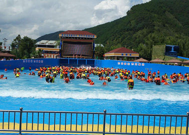 Outside Holiday Resort Surfable Wave Pool Artificial Tsunami For Kids / Adults