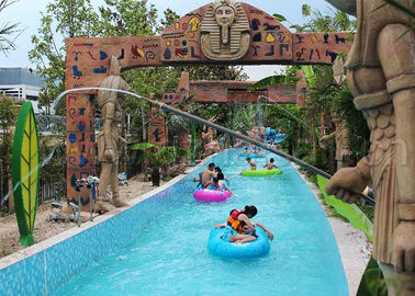 Funny Water Park Lazy River , Children And Adults Lazy River Swimming Pool