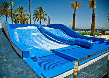 Aqua Park Surf N Slide Water Slide Blue Skateboarding Exciting Experience