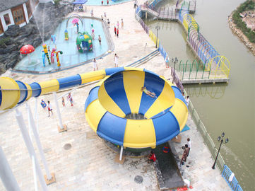 China Amusement Park Space Bowl Water Slide supplier