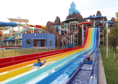 Adult Competition Tornado Water Slide / Water Play Equipment