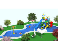 Big Customized Slide Water Park Construction Project Children Playground