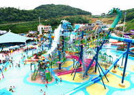 Anti - UV Amusement Park 30m3/H Aquatic Playground Equipment
