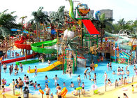 Customized Aqua Park Equipment Adults Gigantic Water House For 5-20 Visitors