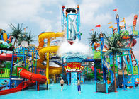 1 Year Warranty Aqua Playground Children / Adults Equipment Water Slide