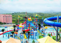 Customized Huge Water Play Equipment Multi Color And Shape Water Slide