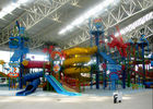 China Large Water Playground Equipment Compound Water House ISO Certified factory
