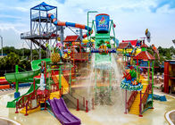 Water House Aqua Playground , SZ-9 Huge Aquatic Playground Equipment