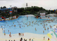 China Attractive Water Park Wave Pool , Family Entertainment Waves Swimming Pool Machine company