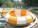 Durable Giant Space Bowl Slide Custom Aqua Park Equipment 12 Meter Tower