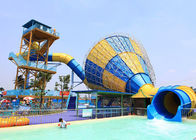 China Commercial Funnel Water Slide Outdoor Hotle Holiday Resort Slides company