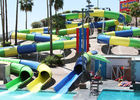 China Huge Fiberglass Water Slide Adults Swimming Pools Extreme Games Slide company