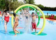 Steel Frame Kids Water Playground , Water Play Equipment Water Fountain