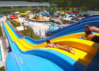 4 / 5 Lane Custom Water Slides Highspeed Racing Slides For Giant Aqua Park