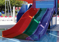 Fiberglass Spiral Water Slide , Hotle Water Playground Classic Water Slides