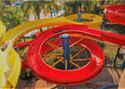 Durable Spiral Swimming Pool Slide Large Thrilling Playground Entertainment Equipment