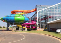 China Industrial Aqua Water Park Tube Slide Gaint Fiber Glass Capacity 360 Persons / H factory
