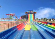 Super Tornado Water Slide 14.6m Platform Height Theme Park Equipment