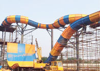 Aqua Park Tornado Water Ride 16m Height Fiberglass Outdoor Equipment