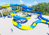 High Platform Water Park Design Slide , Amusement Park Design Construction Team