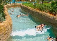 China Giant Water Parks With A Lazy River Floating Water Sports 1m Depth 3-4m Width factory