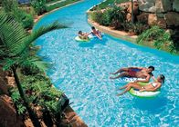 Family Fun Water Park Lazy River Artificial Pool With High - Pressure Air Pump