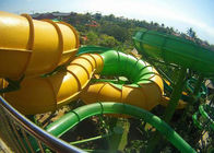 China Customized Tube Water Slide Spiral Slide For Adult Outdoor Sport factory