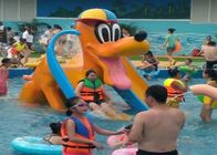 Donald Duck Kids Water Playground , Swimming Pool Spray Kids Water Slide