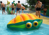 Customized Kids Water Playground Fiberglass Amusement Park Flower Spray