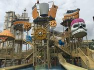 Attractive Aqua Playground Equipment Galle Pirate Theme Water House For Family