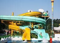 China Outdoor Spiral Slide Water Slide Playground For Amusement Park 1 Year Wanrranty company