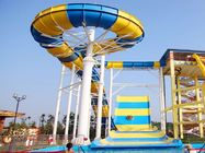 Giant Boomerang Water Slide For Family / Outdoor Water Park Equipment