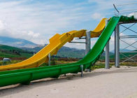 Customized Size High Speed Water Slide / Outdoor Water Park Equipment