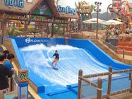 165kw Swimming Pool Water Slides / Water Park Project Flow Rider Surf Simulator With Standard Size