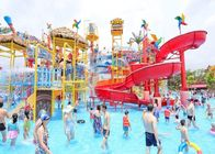 China Fiberglass Aqua Playground Equipment Natural Forest Theme Water House For Resort Hotel company