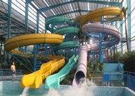 Adult Body Tube Water Slide / Aqua Park Equipment 3 Years Warranty