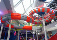 Stable Running Spiral Tube Water Slide Customized Color Easy Operation
