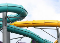 Hotel Resort Adult Water Slide / Fiberglass Tornado Water Ride