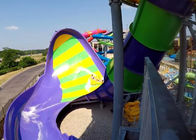 Commercial Custom Water Slides For Huge Aqua Park 2 Riders Per Raft