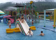 China SGS Aqua Park Playground Equipment / Kids Water House For Hotel Resort company