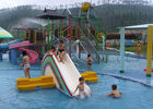 SGS Aqua Park Playground Equipment / Kids Water House For Hotel Resort