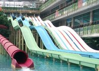 Rainbow Adult Swimming Pool Water Slides For Holiday Resort 2-14 Visitors