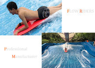 China Water Park Surf Simulator Machine / Flow Rider Wave Surfing Equipment company