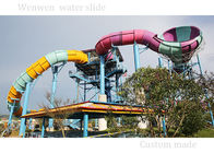 Customized Color Family Boomerang Water Slide