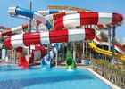 480 Persons / Hr Custom Fiberglass Water Slides For Adults