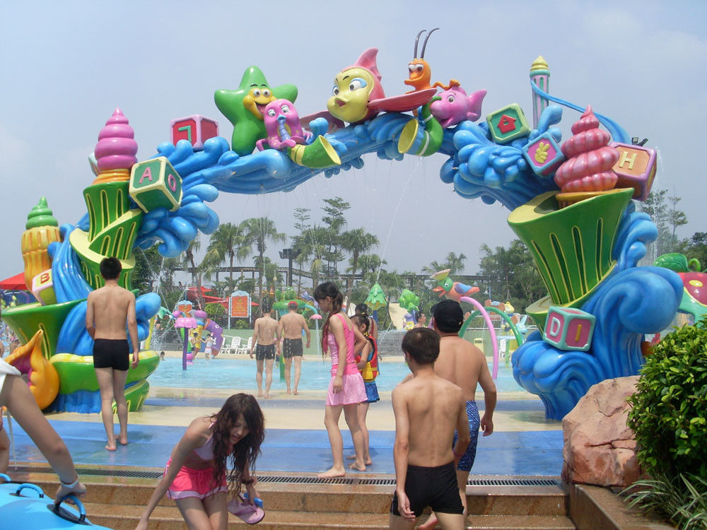 Customized Aqua Park Equipment Arch Door for Park Play Equipment