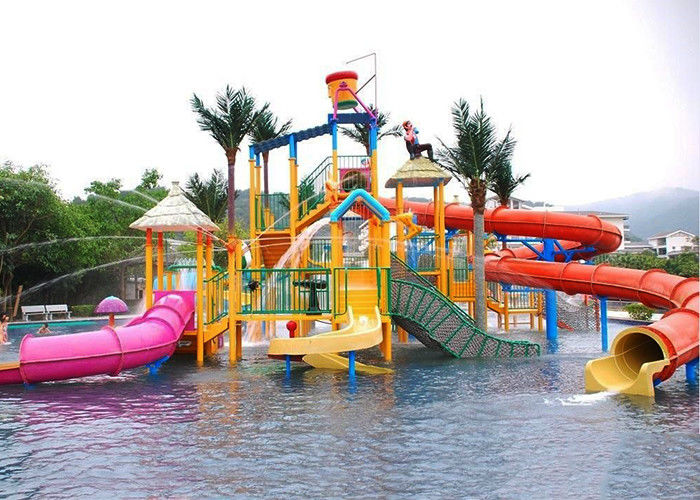 Summer Outdoor Children Water Playground Games Fiberglass Equipment